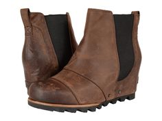 Sorel Lea Wedge boots is where fashion meets function this Fall