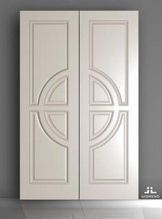 Lesser Seen Options for Custom Wood Interior Doors Wooden Glass Door, Glass Barn Doors, Wooden Door Design, Glass Panel Door, Panel Doors, Glass Panels, Oak Interior Doors, Double Doors Interior, Oak Doors