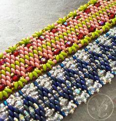 super duo bead patterns | visit etsy com