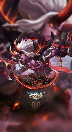 Wallpaper Phone Martis Searing Maw by FachriFHR on DeviantArt Wallpaper Hd Mobile, Wallpaper Hp, Mobiles, Bruno Mobile Legends, The Legend Of Heroes, Logo Gallery, Wall Paper Phone, King Of Fighters, Poker Online