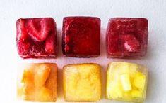 Συνταγή: Παγωμένοι κύβοι φρούτων που προσθέτουν γεύση στο νερό Pudding, Desserts, Food, Summer, Tailgate Desserts, Deserts, Essen, Summer Recipes, Puddings