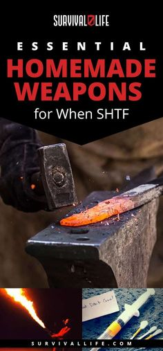 Essential Homemade Weapons | Essential Homemade Weapons for When SHTF #SurvivalFood