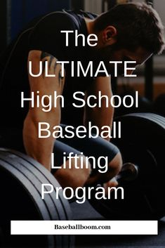 The Ultimate High School Baseball Lifting Program – Spor Baseball Game Outfits, Baseball Tips, Baseball Pitching, Baseball Training, Athletic Training, Uk Baseball, Baseball Lamp, Baseball Injuries, Baseball Cookies