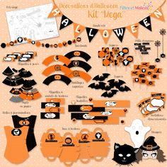 deco fete pompier a imprimer | Un kit à imprimer pour sa déco d'Halloween (avec Fêtes et Malices ...