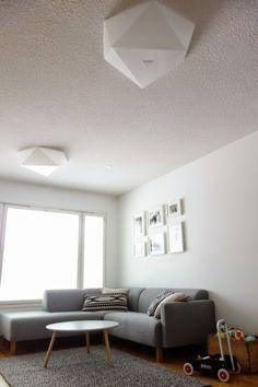 DecoDreamer's Diary: DecoDreamer's Diary: Innolux, Zeneos, living room, light, ceiling light, acrylic, olohuone, plafondi, lamppu, valaisin, akryyli