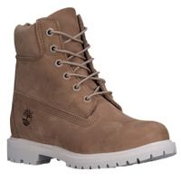"Timberland 6"" Premium Waterproof Boots - Women's - Tan / White"