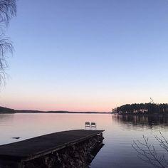 Lämnar mitt paradis i ett par dagar och kör ner till södra Sverige över helgen. ❣. #home #nature #lake #runn #falun #photography #paradise #love #nofilter