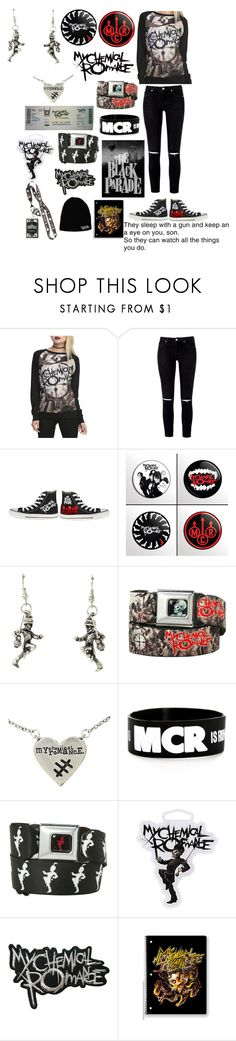 """""""My Chemical Romance"""" by ender1027 ❤ liked on Polyvore featuring Hot Topic"""
