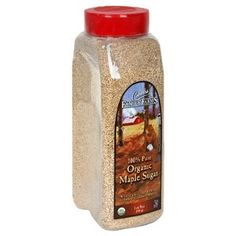 Coombs Family Farms 100% Organic Maple Sugar, 25-Ounce Container  A GREAT replacement to Brown Sugar - much less sugar content, and you can use less and still get the desired sweetness.