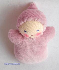 Waldorf Doll - Pink Pocket Doll