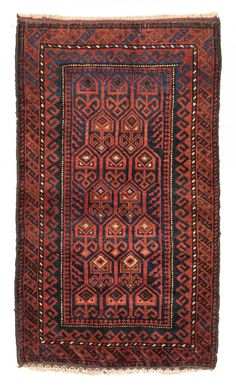 Balouch Balisht 100 x 58cm (3ft. 3in. x 1ft. 11in.) Persia, ca. 1920