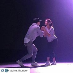 #Repost @jadine_thunder with @repostapp ・・・ #UpToDate: @jaye.wolf @nadzlustre during their rehearsals for #JaDineInLoveWorldTour #JaDineLoveDubai (c) @dreamscapeph  #JaDine #Thunder