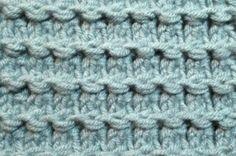Lovely stitch.  Free pattern for prayer shawl or lap blanket.