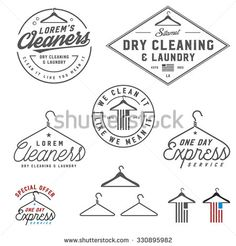 inspiration for the Maple Street Laundry door decal