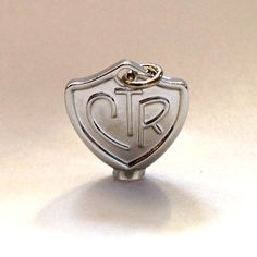 CTR Charm - Perfect for Activity Day Camp Crafts!!!