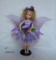 "Jmisa 16"" Porcelain Fairy Doll jmisa http://www.amazon.com/dp/B00FSPKGKG/ref=cm_sw_r_pi_dp_aYQ6vb1ZGYEZC"