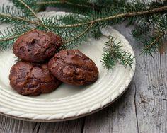 Double Chocolate Espresso Cookies. A glass of milk's best friend.