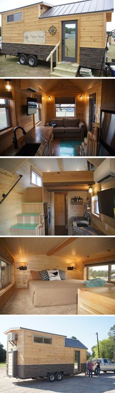The Prairie Schooner tiny house from Wander Homes
