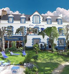 Les Glycines, maison d'hôtes de charme à Billiers en Bretagne sud (Morbihan, France)