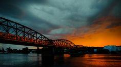 Drama over Vltava River - Evening in Prague