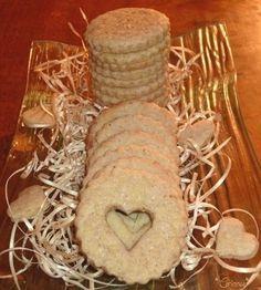 Petits biscuits sablés à la crème de marrons, Recette Ptitchef