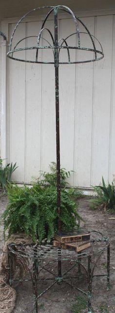 Dome Garden Bench