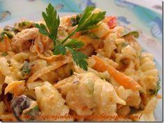 Receita Prato Principal : Macarrão gelado com sardinha de Carina Fagiani