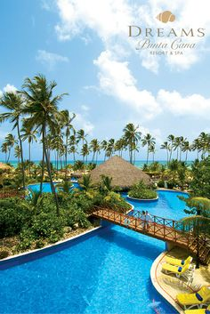 This view takes our breath away! Make it yours at Dreams Punta Cana!