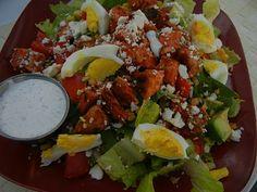 Buffalo Chicken Salad--my all time favorite salad!