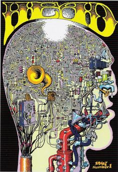 Cover for Head by R. Crumb, 1967