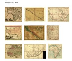 Vintage Maps - Website devoted to 1/12th scale miniature dollhouse printables (printies)!