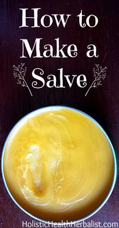 Learning how to make a salve is super simple and a lot of fun. There's so many different herbs, oils, EOs, and waxes you can use to craft your own salve! Natural Medicine, Herbal Medicine, Holistic Medicine, Natural Home Remedies, Herbal Remedies, Healing Herbs, Natural Healing, Natural Skin, Medicinal Herbs