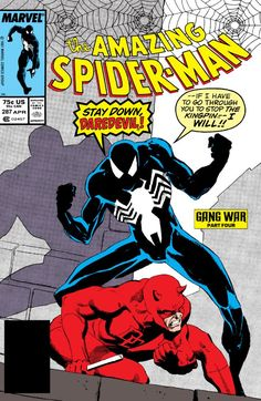 Amazing Spider-Man (1963) #287 #Marvel #AmazingSpiderMan (Cover Artist: Kyle Baker)