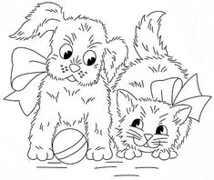 Puppy Embroidery Pattern