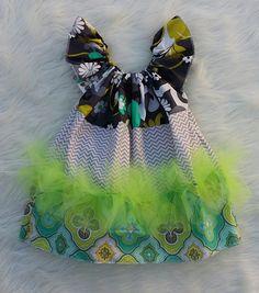 Grey & White Chevron Basic Flutter Dresse SIZE 3,baby girl dresses,girls dresses,flutter dresses,handmade dresses,baby dress,princess dress by HopskotchKids2 on Etsy