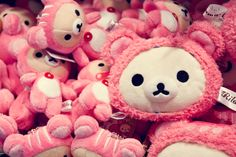 original from Japan. Pink Rilakkuma♡