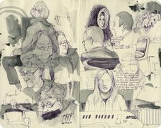 A glimpse at Pat Perry's sketchbook.