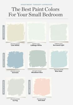 8 Paint Colors That Always Work for a Small Bedroom. 8 Paint Colors That Always Work for a Small Bedroom. Ideas for Couch for a Family Room. Small Living Room Design You can get more details by clicking on the image. Best Paint Colors, Paint Colors For Home, Light Blue Paint Colors, Paint Colors For Living Room, Color Blue, Vintage Paint Colors, Neutral Nursery Colors, Blue Gray Paint Colors, Basement Paint Colors