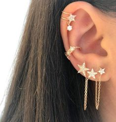 Conch Piercing Jewelry - Tragus Earring Surgical Steel - Cartilage Labret Barbell - Forward Helix Earring Flat Back - Ear Piercing Jewelry - Custom Jewelry Ideas Conch Piercings, Pretty Ear Piercings, Ear Peircings, Multiple Ear Piercings, Tongue Piercings, Dermal Piercing, Belly Piercings, Ear Piercings Chart, Piercing Chart