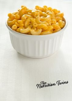 Creamy Cauliflower Mac n' Cheese | HEAVENLY Comfort food done HEALTHY | ONLY 138 CALORIES | PROTEIN, FIBER & YOUR VEGGIES! | Enjoy! :) For MORE RECIPES please SIGN UP for our FREE NEWSLETTER www.NutritionTwins.com