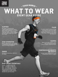 "Tough Mudder ""What to Wear"""