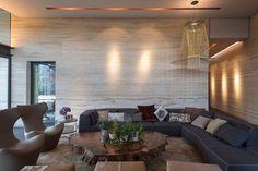 Vieyra Arquitectos Design a Contemporary Home in the Lomas Country Golf Club, near Mexico City Living Roon, Living Area, Living Room Decor, Living Spaces, Contemporary Interior Design, Contemporary Furniture, Contemporary Houses, Sofa Furniture, Furniture Plans