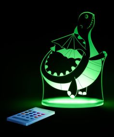 Dragon Color-Changing LED Night-Light by Aloka theyre on flash sale and I e wanted one SO LONG for the kids!! Maybe a Christmas gift for boys