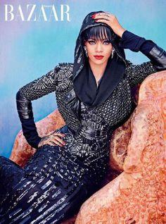 Rihanna on the Cover of Hapers Bazaar Arabia....Gorgeous!