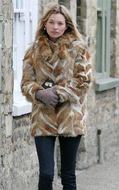 not a fan of fur but I do love how Kate rocks it!