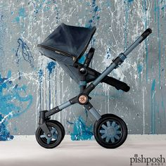 We ♥ the second installation of Bugaboo by Diesel  - the Buffalo gets a complete Diesel makeover with gorgeous details on the frame in this special edition stroller. Tailored fabric is available for the Donkey! Limited quantity. #bugaboodiesel #bebrave   http://www.pishposhbaby.com/bugaboo-buffalo-diesel-denim.html