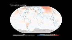 You can watch our climate get warmer in this NASA video.