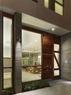 David Baker Architects: Richardson Apartments modified K door.
