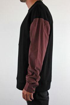 Contrast Fleece Sweat by Ksubi / Outerwear at Black Box Boutique