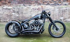 ϟ Hell Kustom ϟ: Harley Davidson Softail By Nine Hills Motorcycles